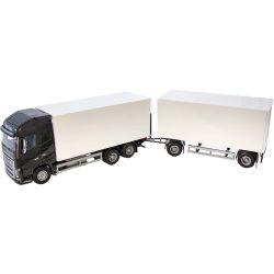 Barnlastbil Volvo transportlastbil med släp. Emek 1:25