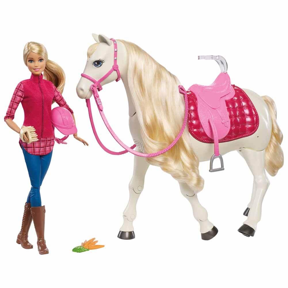 Barbie Dream Horse Drömhäst med Barbiedocka Mattel FRV36