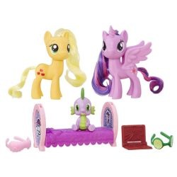 My Little Pony Princess Twilight Sparkle Applejack Friendsset Mer information kommer snart.