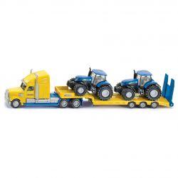 Siku lastbil med New Holland traktorer T7070 Skala 1:87