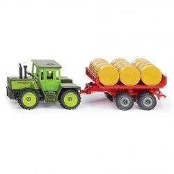 Siku Traktor Blister Mercedes traktor med balsläp