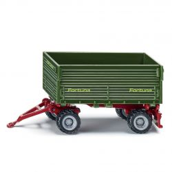 Siku Traktor Blister DUBBELAXLAT SLÄP