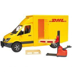 Bruder DHL transportbil Sprinter Mecedes Benz 02534