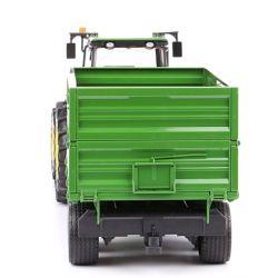 Bruder Traktor John Deere 7930 skopa och släp 03055 i skala 1:16