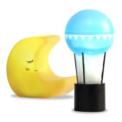 Lundby lampset måne och ballong