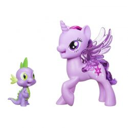 My Little Pony Movie Twilight Sparkle & Spike the dragon friendship duet