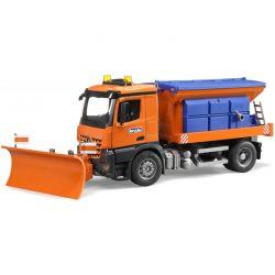 Snöplog till Bruders traktorer och lastbilar