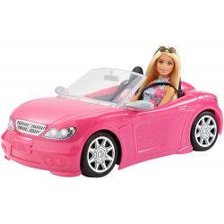 Barbie Bil Glam Pop Cabriolet Mattel