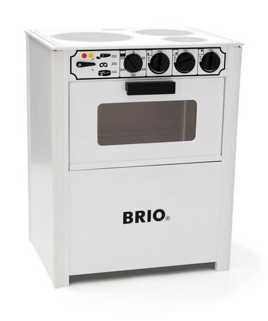 Läs mer om BRIO Spis, vit