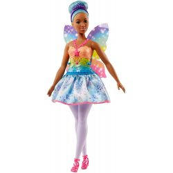 Barbie Dreamtopia Rainbow Cove Fairy Doll, Blue