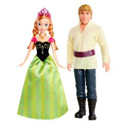 Disney Frozen Kristoffer och Anna dockor