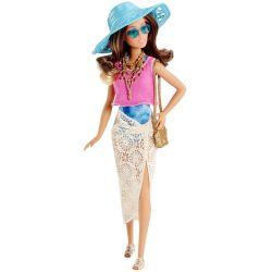 Barbie Doll Vacation vit kjol