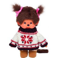 Monchhichi Sweater & Boots Girl 20 cm