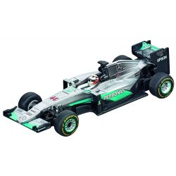 Carrera Go Mercedes F1 W07 Hybrid Lewis Hamilton No.44 Slot Car 64088