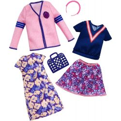 Barbie Fashion Outfit Varsity FKT29 2 Pack