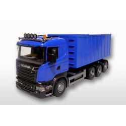 Emek Leksak Scania lastväxlare med högt flak 1:25