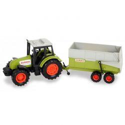 Dickie Toys Traktor Claas med kärra