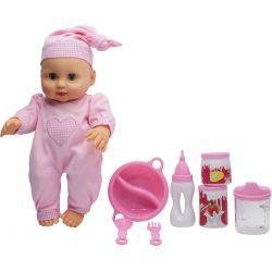 Lovely Baby Docka Baby 32 cm Rosa