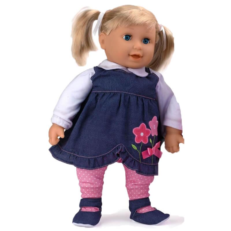 Dolls World Docka Emma Blå 41 cm