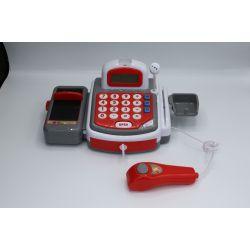 PAP Kassaapparat med mikrofon och ljud leka affär