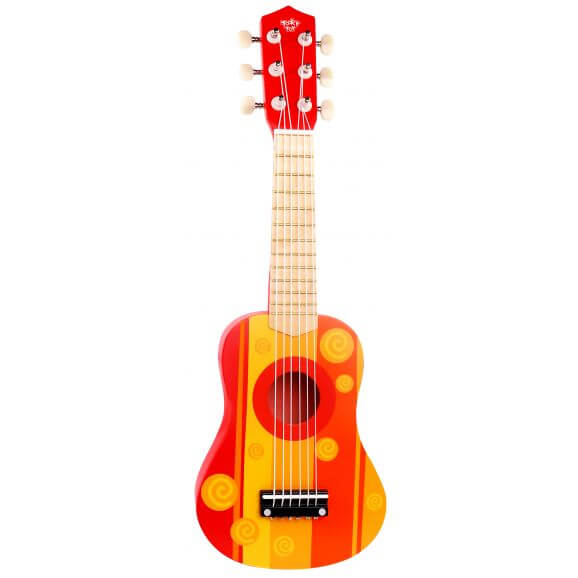 Leksaksgitarr i trä Tooky Toy