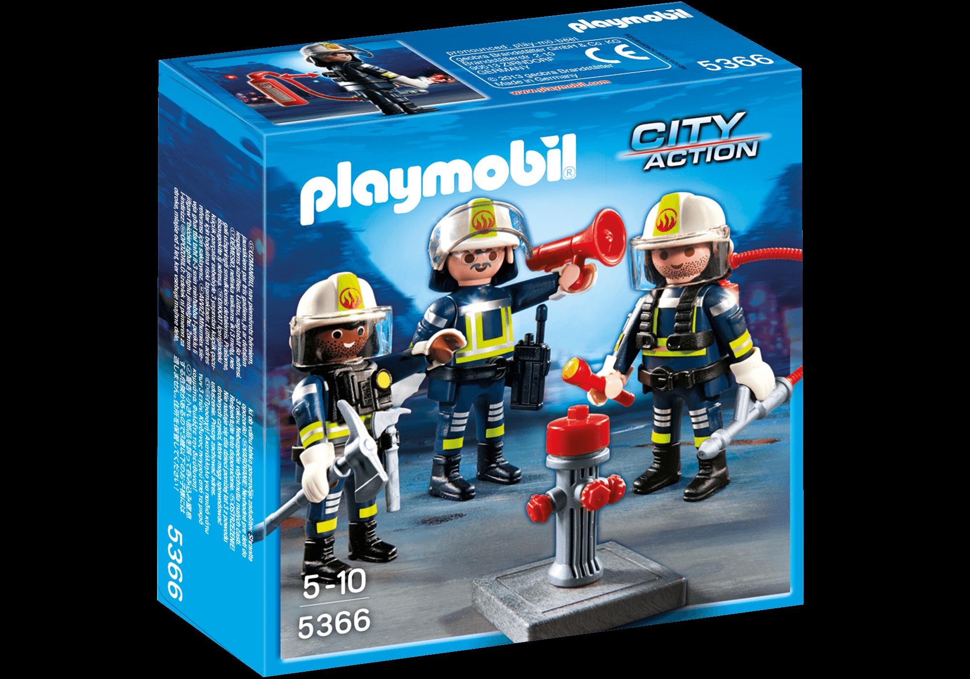 Läs mer om Playmobil Brandkårsteam 5366