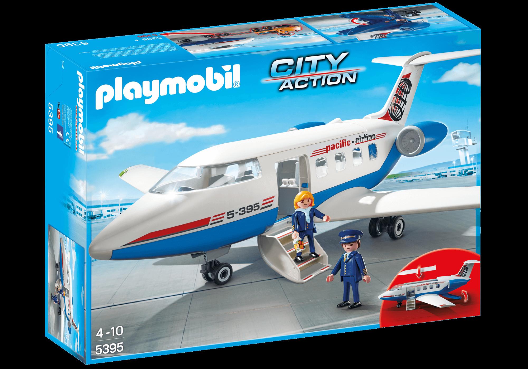 Läs mer om Playmobil Passagerfly 5395