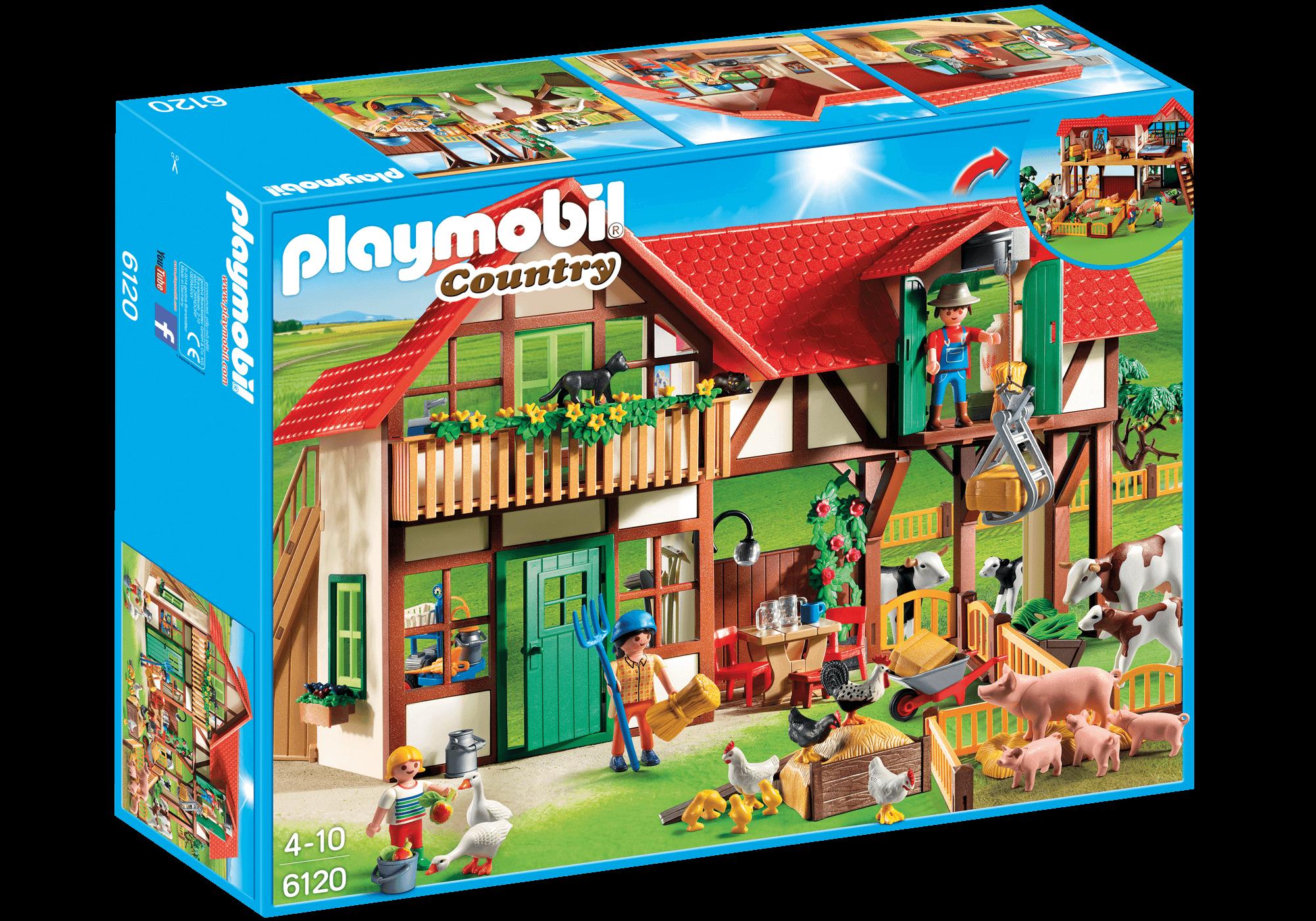 Läs mer om Playmobil Country 6120 Stor Bondgård