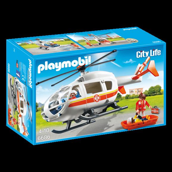 Playmobil Ambulanshelikopter 6686