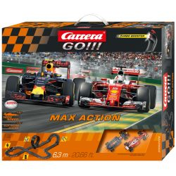 Carrera Go Bilbana Max Action Red Bull 630 cm