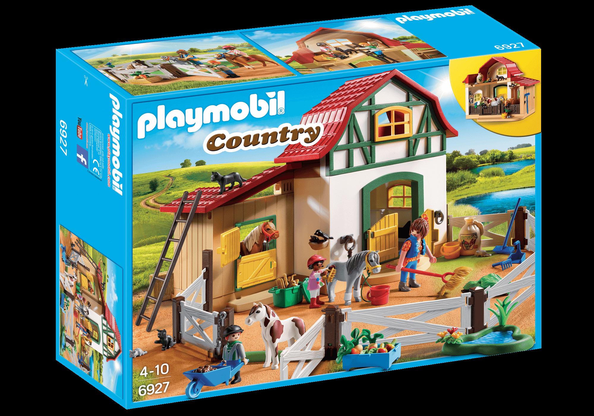 Läs mer om Playmobil Ponnygård 6927