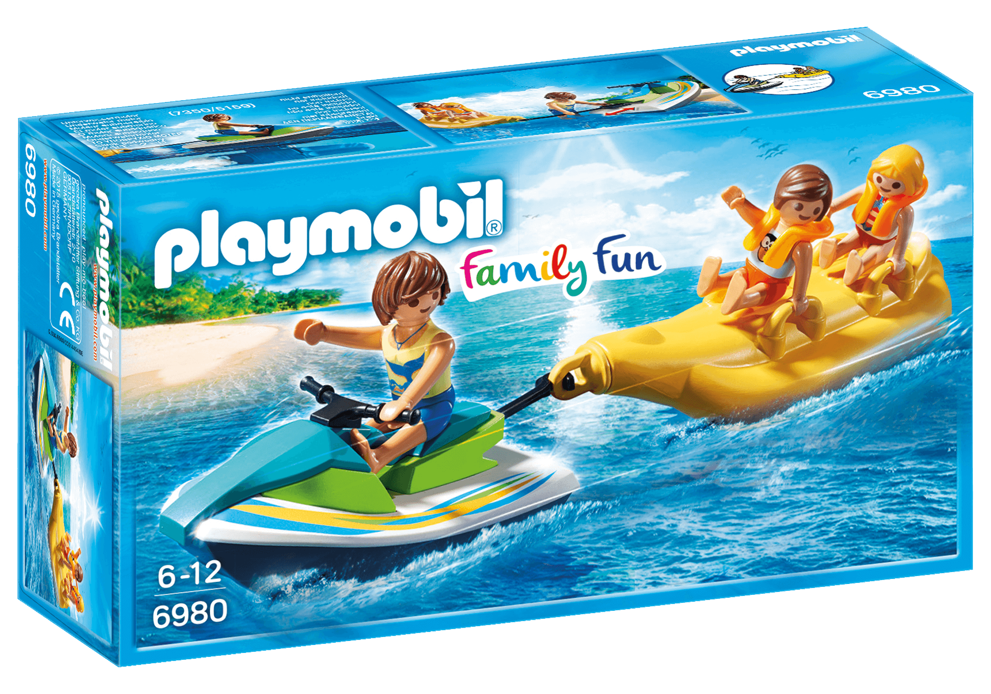 Läs mer om Playmobil Jetski med Bananbåt 6980