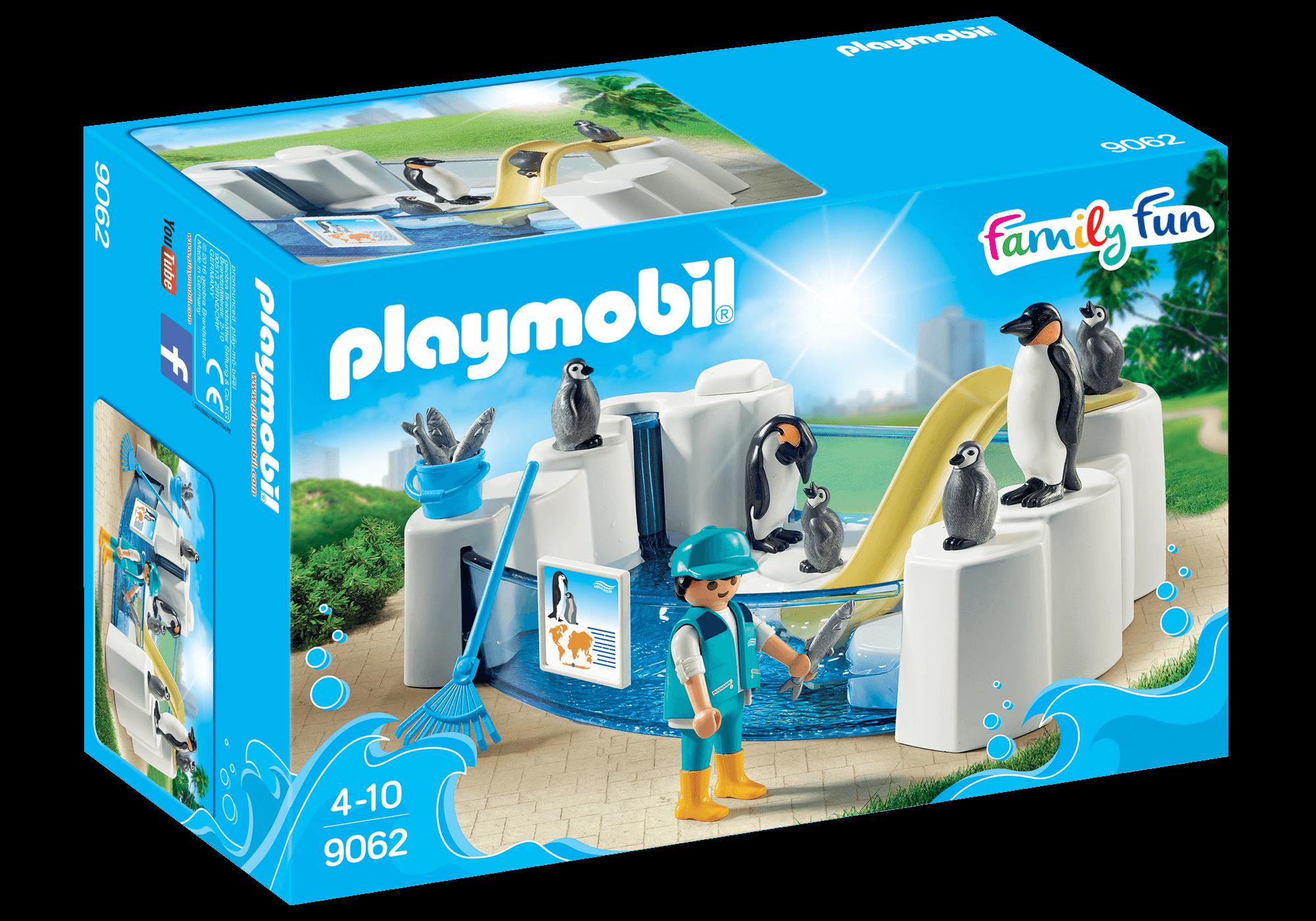 Läs mer om Playmobil Pingvinbassäng 9062