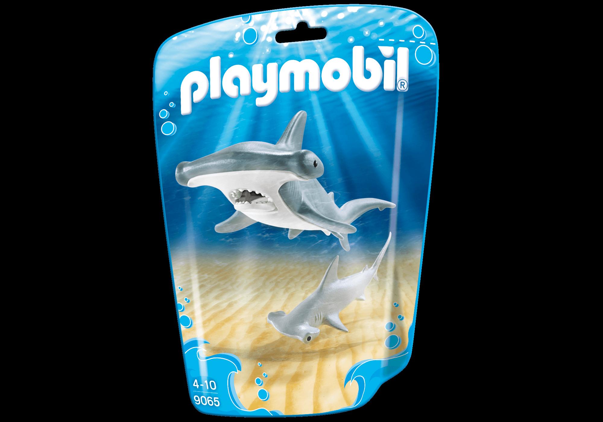 Läs mer om Playmobil Hammarhaj med Unge 9065