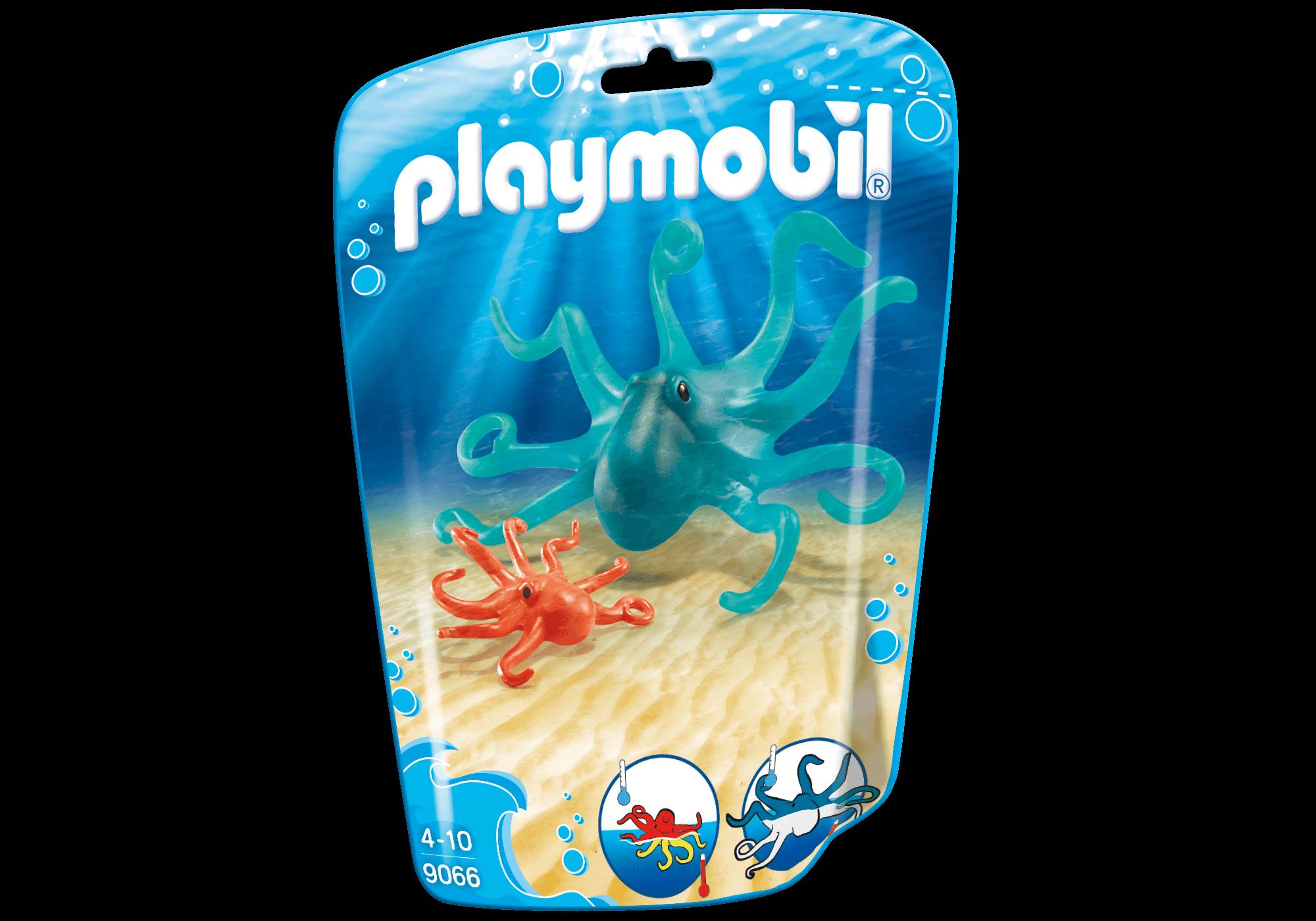 Läs mer om Playmobil Bläckfisk med Unge 9066