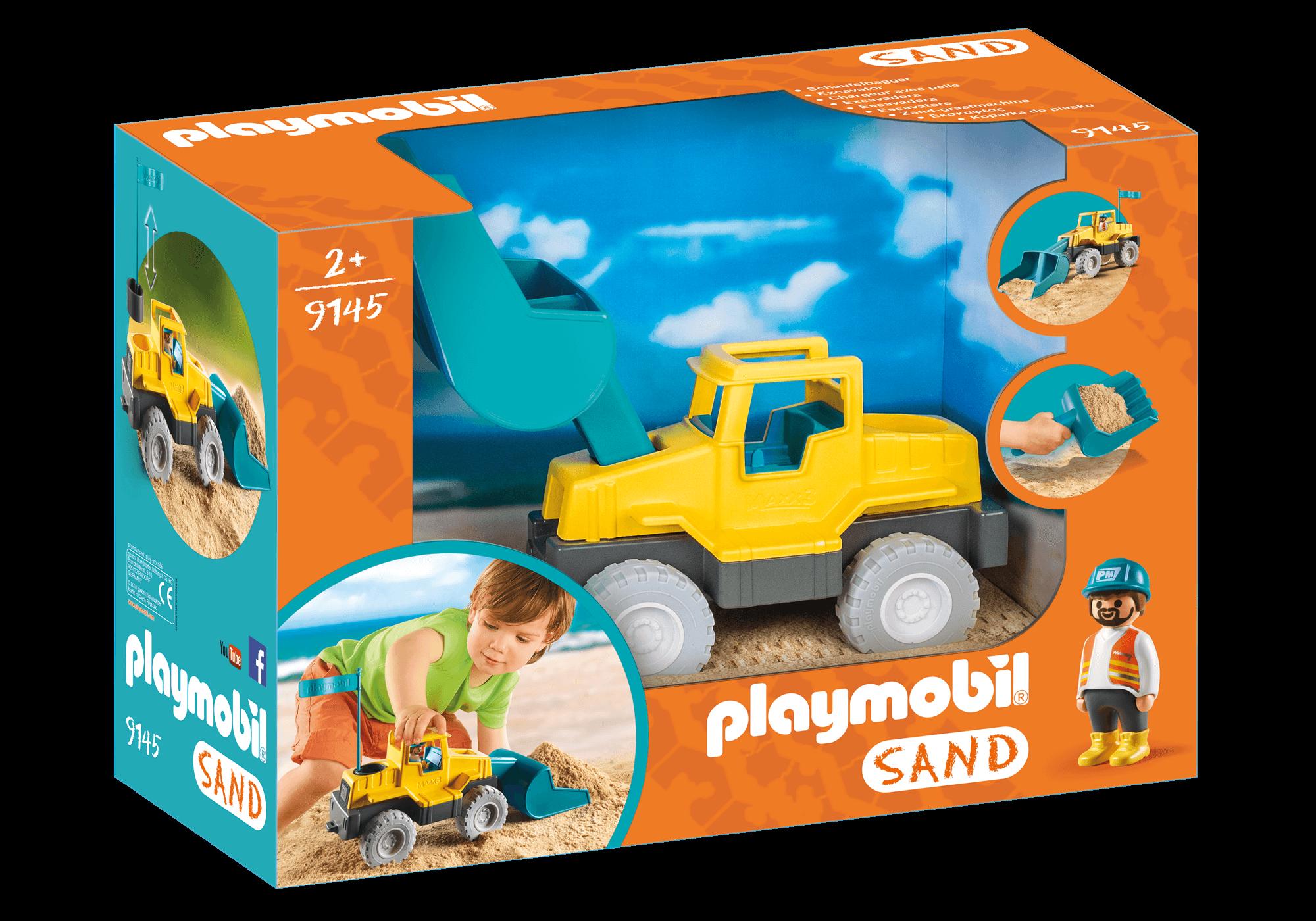 Läs mer om Playmobil Sand 9145 Grävskopa