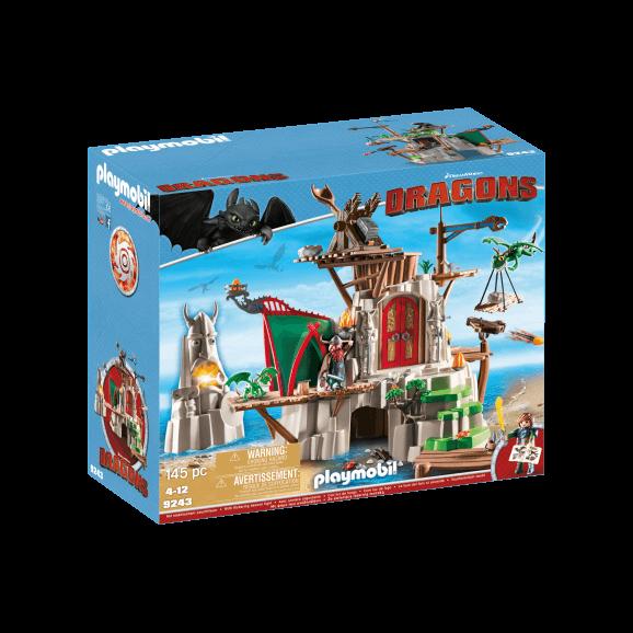 Playmobil Berk drakslott 9243