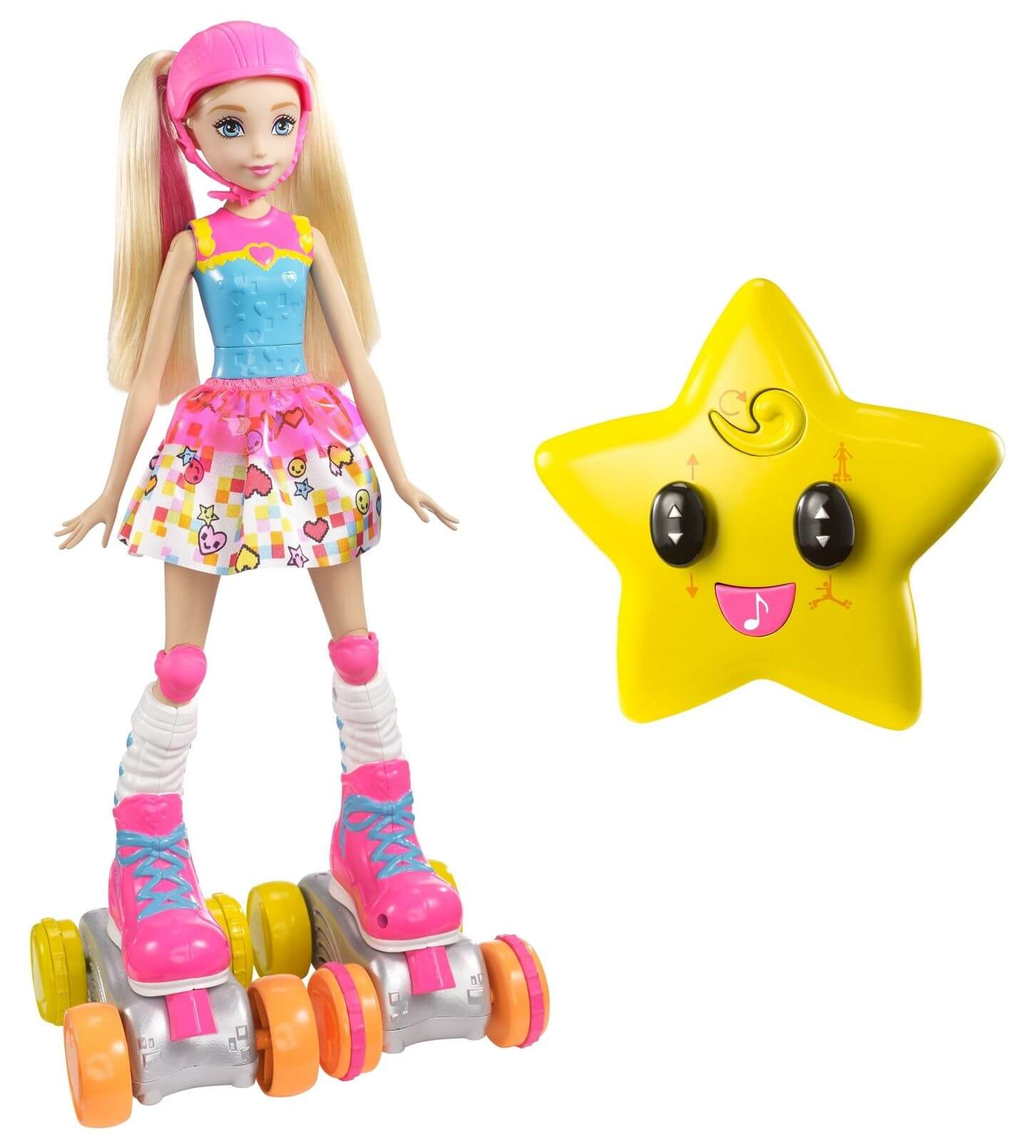 Barbie Docka Video Game Hero RC Roller Skater FDN00