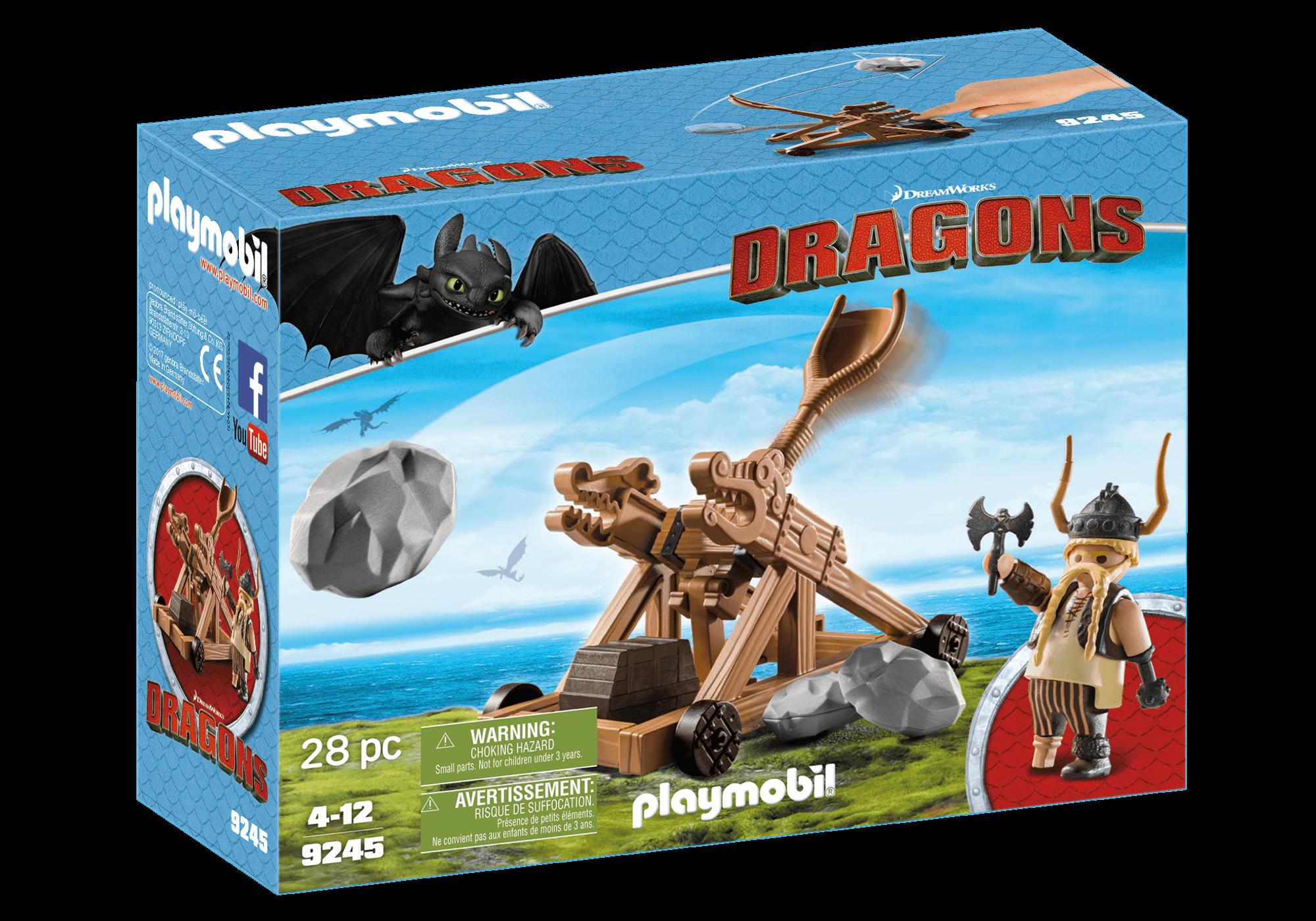 Läs mer om Playmobil Gape med katapult 9245