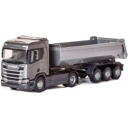 Emek Scania R Next Generation Tippsläp Grå