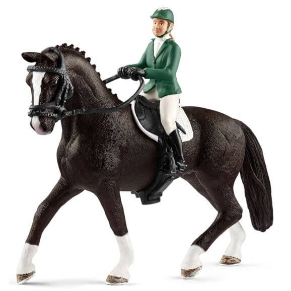 Schleich Hoppryttare med häst 42358