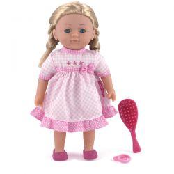 Dolls World Docka 36 cm Charlotte med rosa klänning