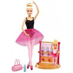 Barbie Careers Ballet Instructor Doll and Playset Blonde