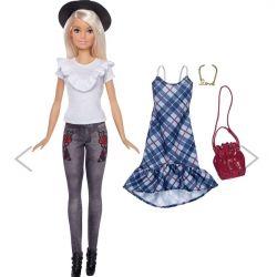 Barbiedocka Fashionistas Denim Floral FJF68