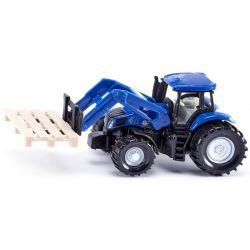 Siku Traktor New Holland T8.390 med frontlastare 1:87