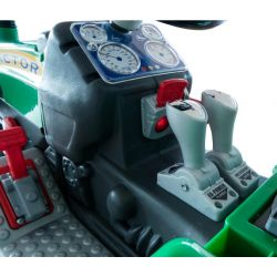 Eltraktor barn Jamara Power Drag SPR 9800 med lampor 12 volt