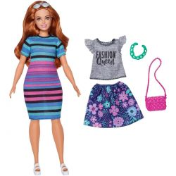 Barbiedocka Fashionista Rainbow Dress FJF69