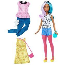 Barbie Docka Fashionistas Moda DTF05