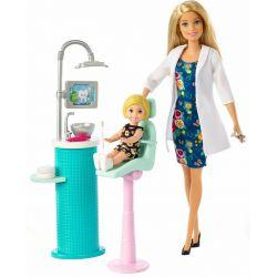 Barbie Tandläkare Docka & Lekset FXP16