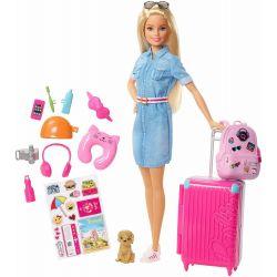 Barbie Resa Docka & Accessoarer FWV25